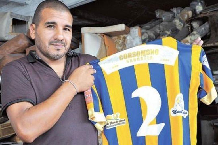 Luis Orquera, una leyenda de Central Ballester