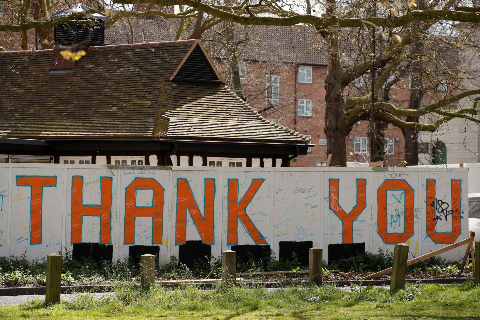"""Gracias"", Stamford Hill, Inglaterra"
