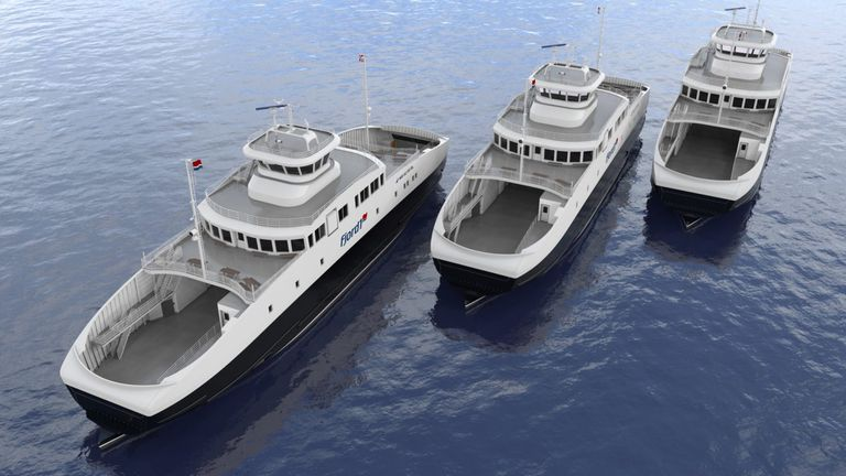 Los trasbordadores de Multi Maritime