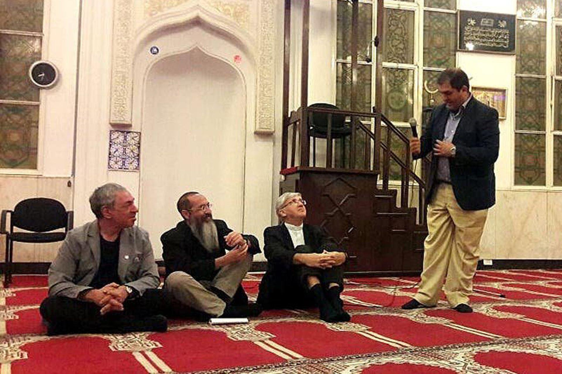 Diálogo interreligioso entre judíos, musulmanes y católicos en Buenos Aires, en 2016