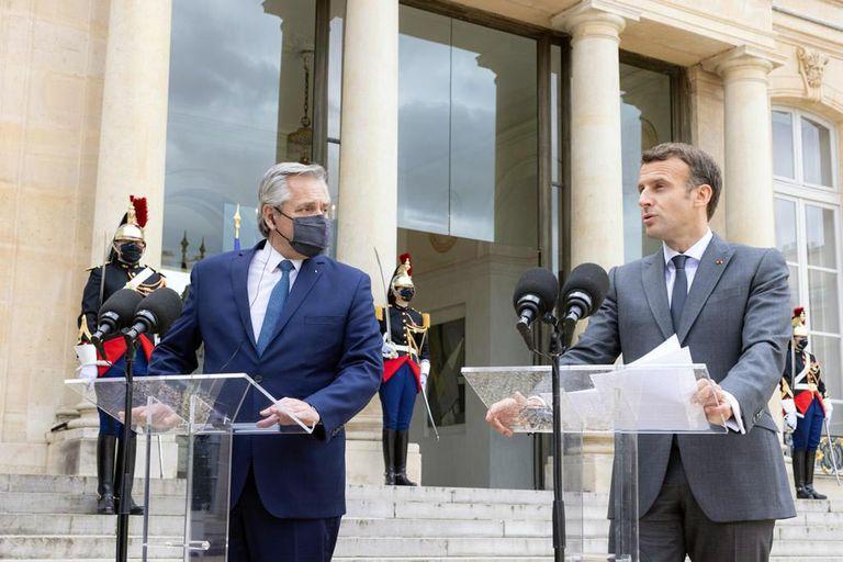 """Deuda. Macron:""""Quisiéramos que lleguen lo antes posible a un acuerdo con el FMI"""""""