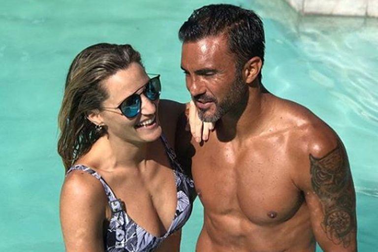 Mica Viciconte y Fabián Cubero disfrutan de un consolidado romance