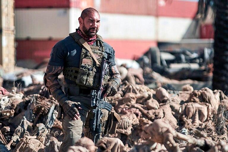 "Dave Bautista interpreta a Scott Ward en ""El ejército de los muertos"" de Netflix"