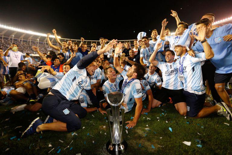 La celebración del título del 2014