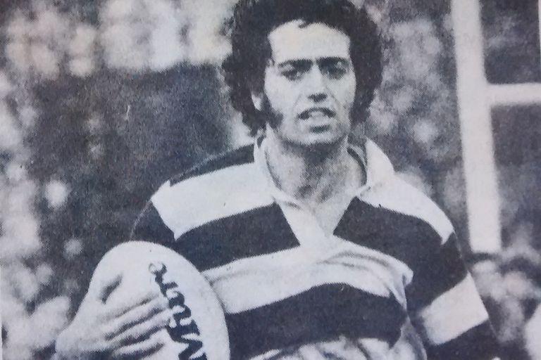 Alejandro Maguila Puccio, en su época de rugbier