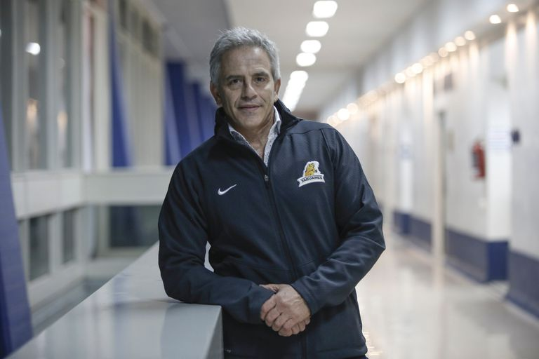 El presidente de la UAR, Marcelo Rodriguez