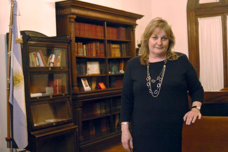Maria del Carmen Bianchi regresa a la presidencia de la Conabip (en la foto, durante su mandato anterior, en 2007)