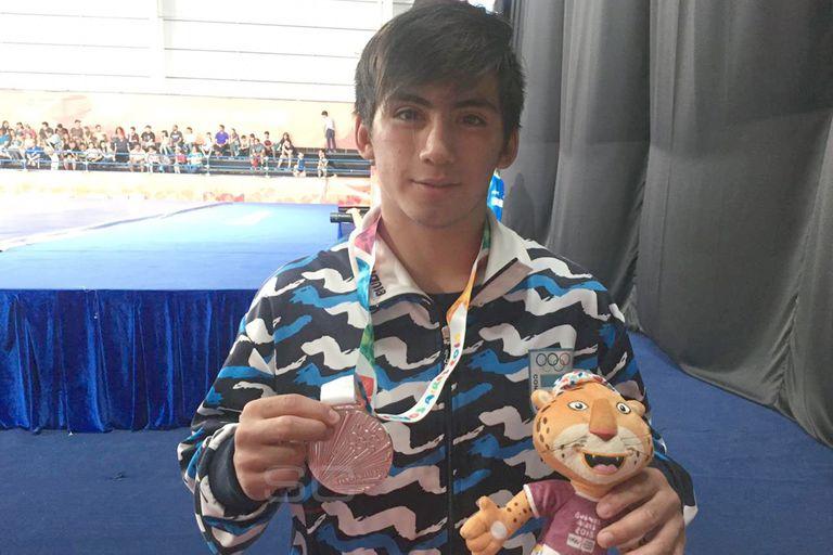 David Almendra: de mudarse solo a Buenos Aires a ser medallista olímpico