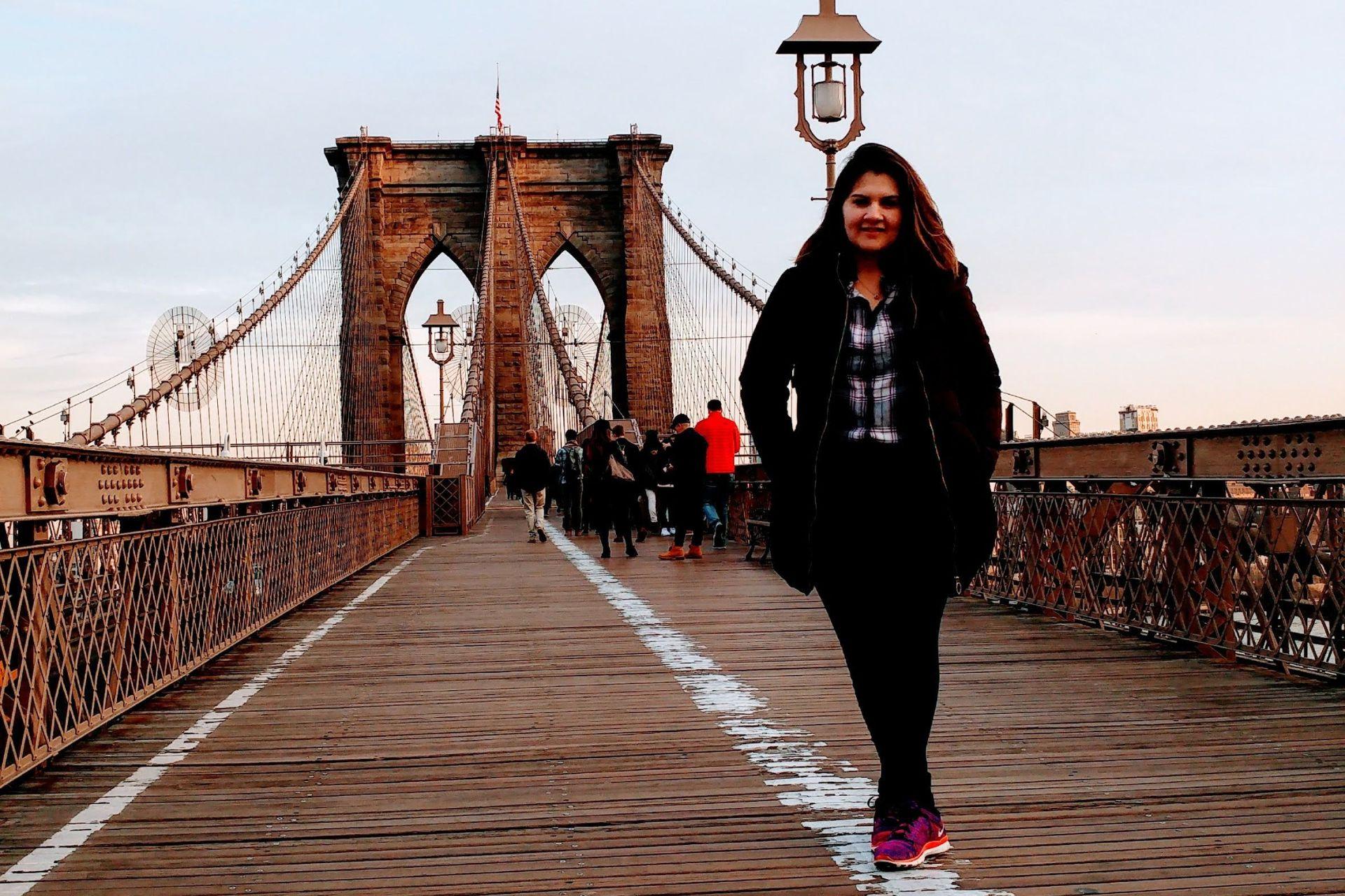 Martina esperó en Nueva York.