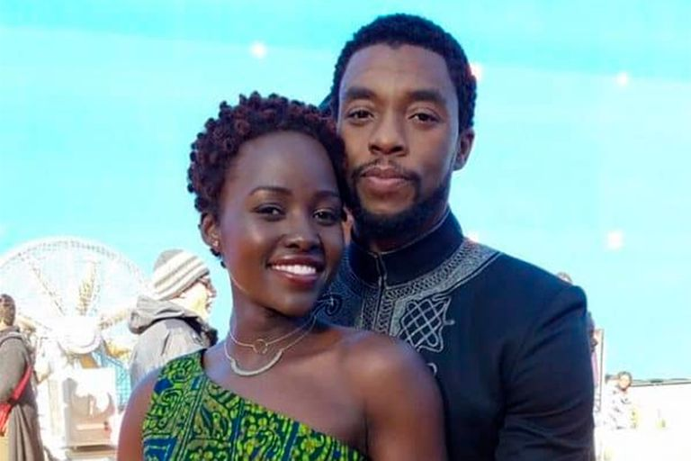 El emotivo homenaje de Lupita Nyong'o a Chadwick Boseman
