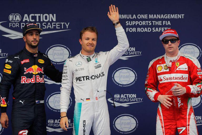 Nico Rosberg partirá primero en Shanghai
