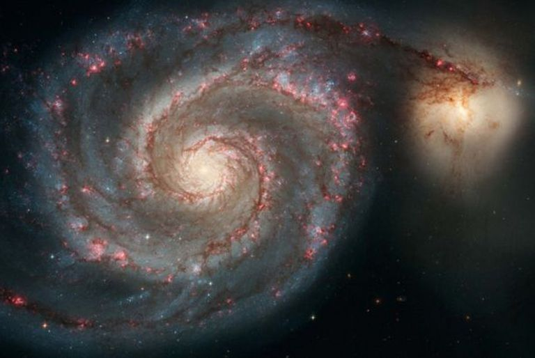 Detectan señales del que podría ser el primer planeta descubierto fuera de la Vía Láctea
