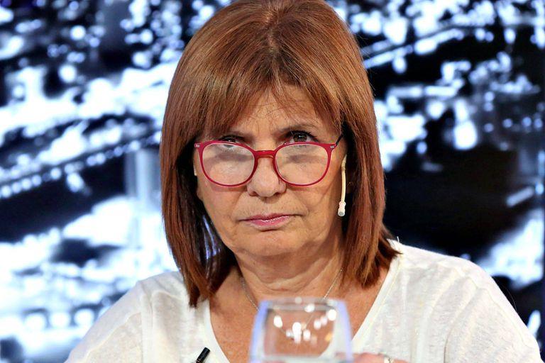 La exministra de Seguridad de la Nación, Patricia Bullrich