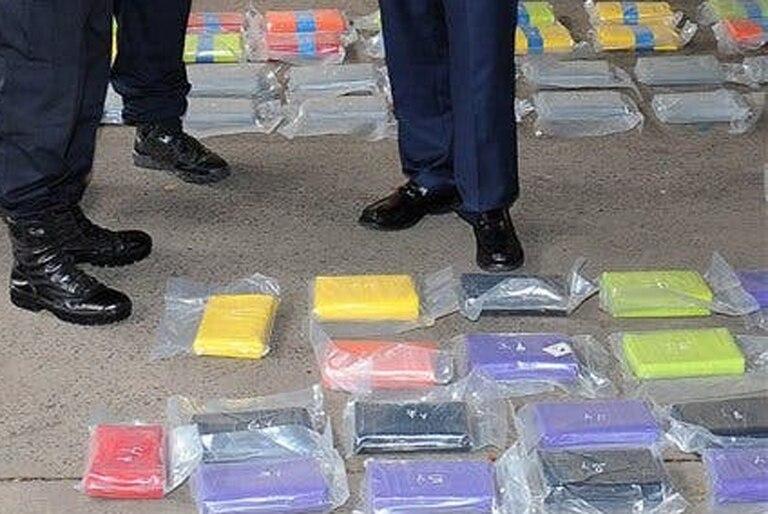 Parte de la droga secuestrada en el denominado operativo Leones Blanco fue robada por policías bonaerenses