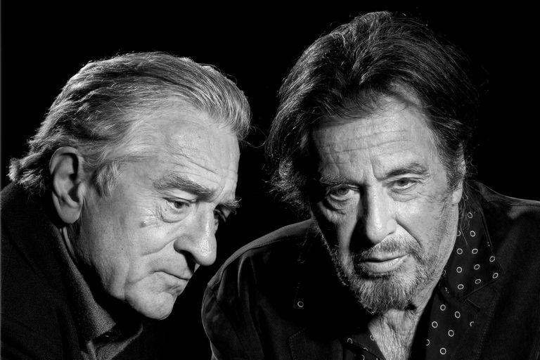 Robert De Niro y Al Pacino vuelven juntos a la pantalla grande con un film que los ubica a la altura del mito