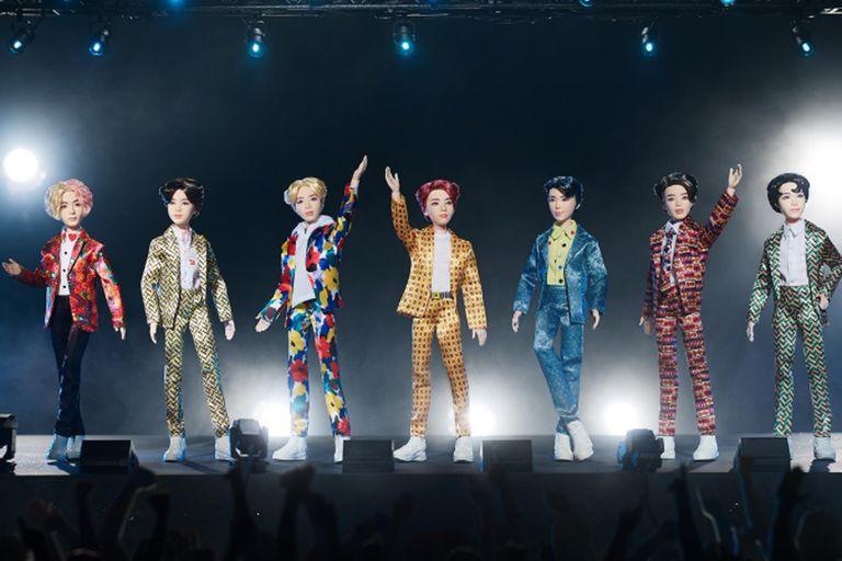 La boyband surcoreana tendrá su colección realizada por Mattel