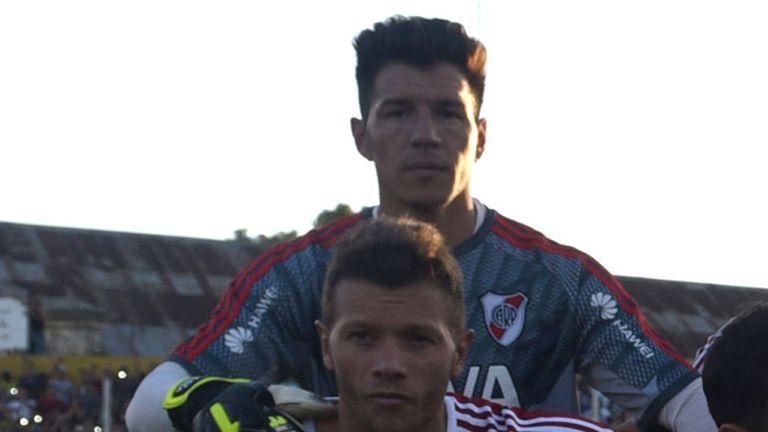 Bologna jugó un sólo partido en River: ante Olimpo, en diciembre del año pasado