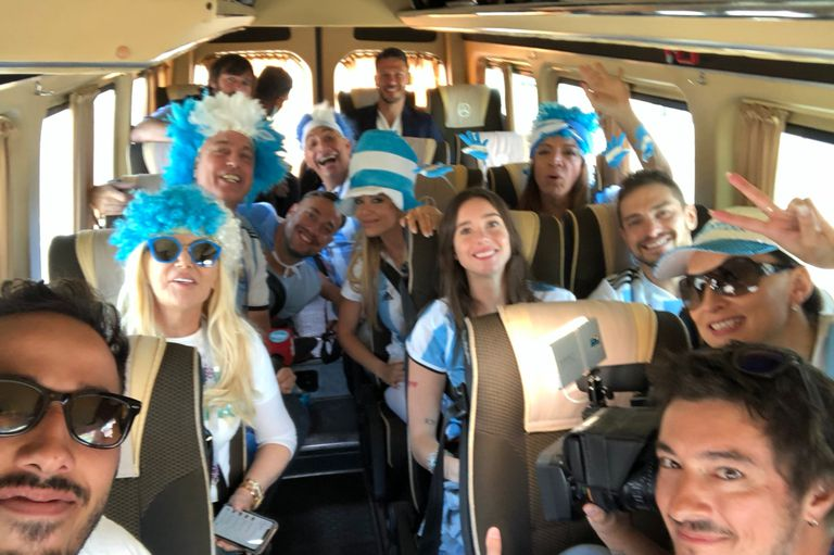 Argentina-Islandia: los famosos se prepararon, celebraron y se desilusionaron