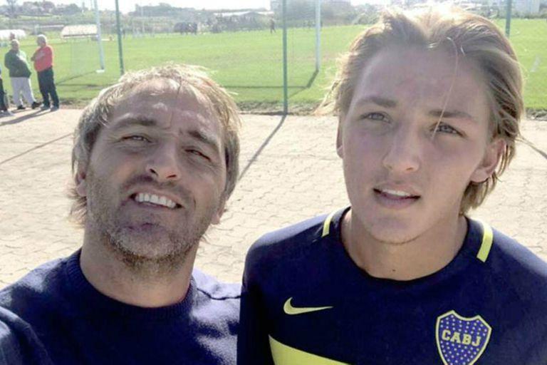 La emoción del Chapa Retegui, faná de River, tras el debut de su hijo en Boca