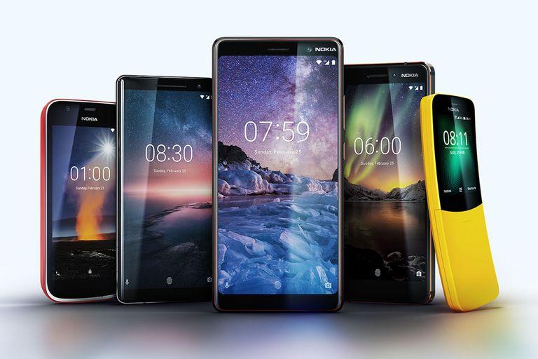 Todos los dispositivos presentados por HMD para actualizar la familia Nokia de teléfonos y celulares