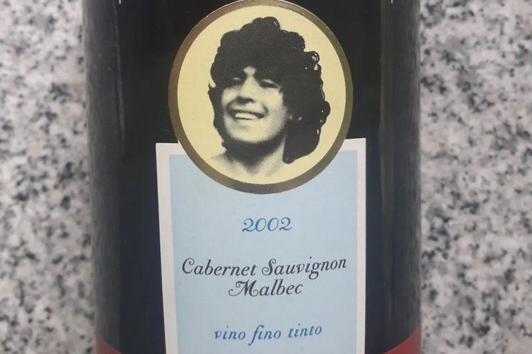 Maradona: el vino que iba a ser un boom y hoy está reservado para coleccionistas