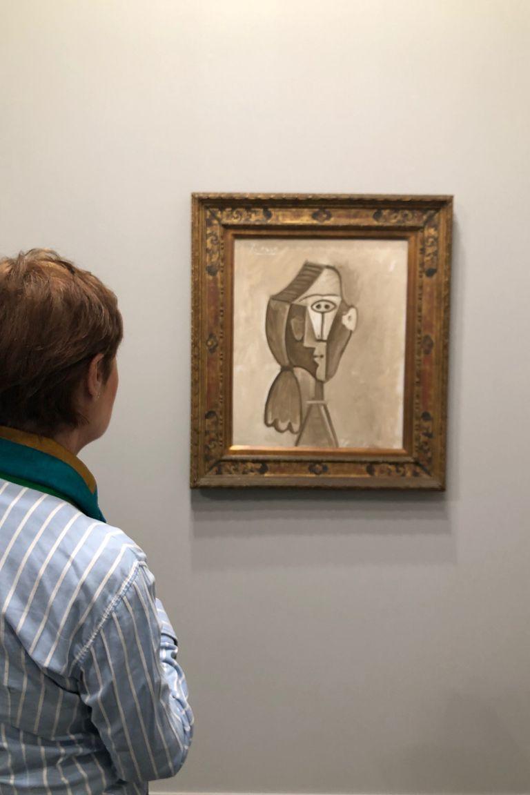 La obra más cara de la feria: Retrato de Jacqueline, de Pablo Picasso, valuada en 6,8 millones de dólares