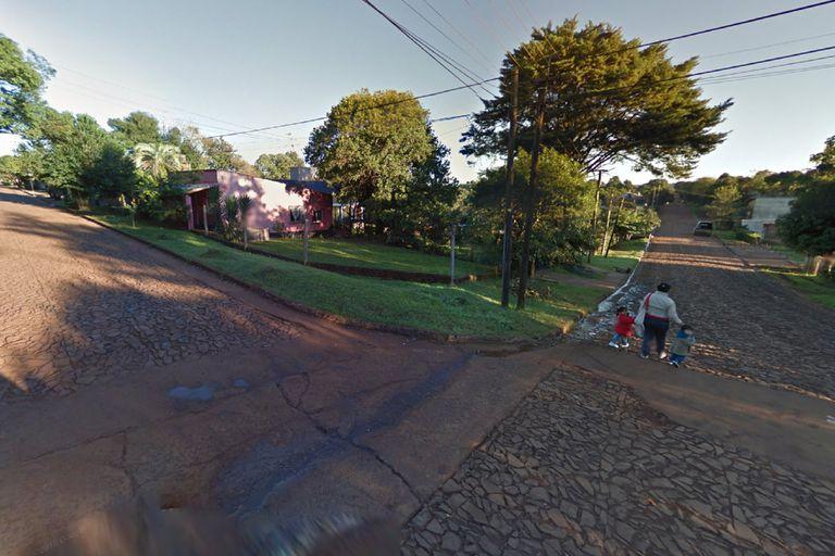 San Juan y Lavalle, Oberá, donde un hombre arrojó una bomba molotov a la casa en la que estaban su pareja y sus hijos