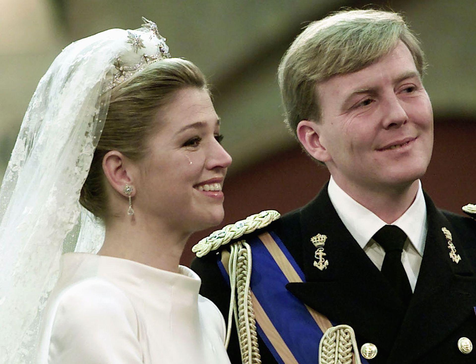 Aunque fue un día feliz, Máxima extrañó a su padre; el Parlamento impidió que Jorge Zorreguieta asistiera por haber ocupado un cargo en la última dictadura militar argentina