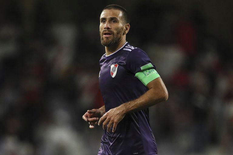 Leonardo Ponzio en el partido ante Al Ain
