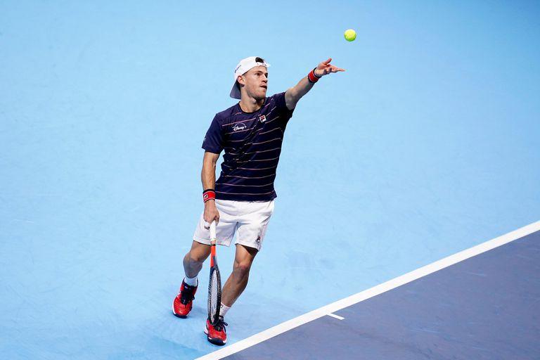Masters de Londres. Diego Schwartzman perdió en el debut frente a Djokovic