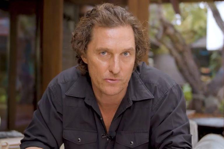 El fútbol y la política, dos de las nuevas pasiones de Matthew McConaughey