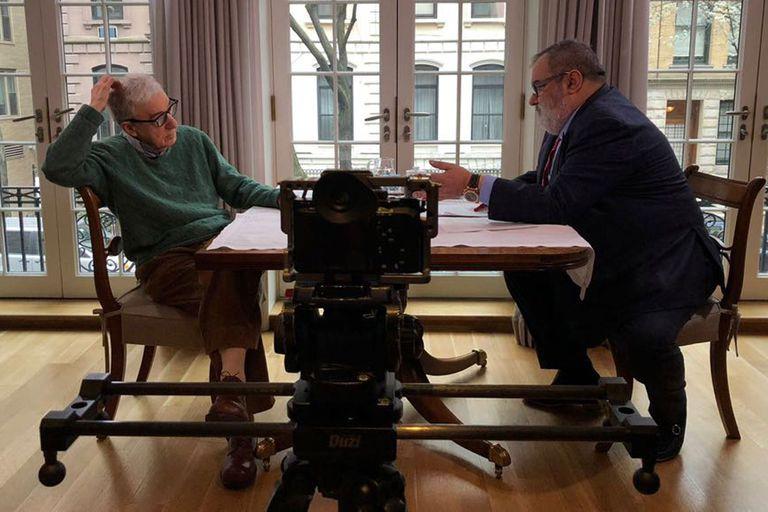 El cineasta neoyorkino contó al periodista que Hollywood siempre le trató bien y le confesó haber tenido mucha suerte a lo largo de su carrera