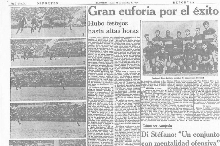Fútbol-ficción: el día en que River aplaudió una vuelta olímpica de Boca