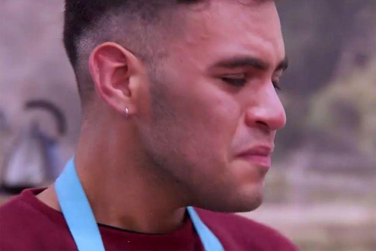 Bake Off Argentina: una fallida torta cebra hizo llorar a Emiliano