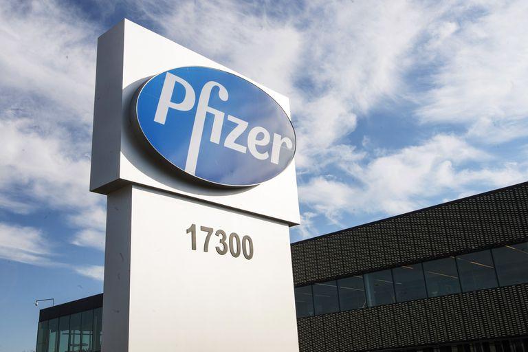 Una planta de Pfizer