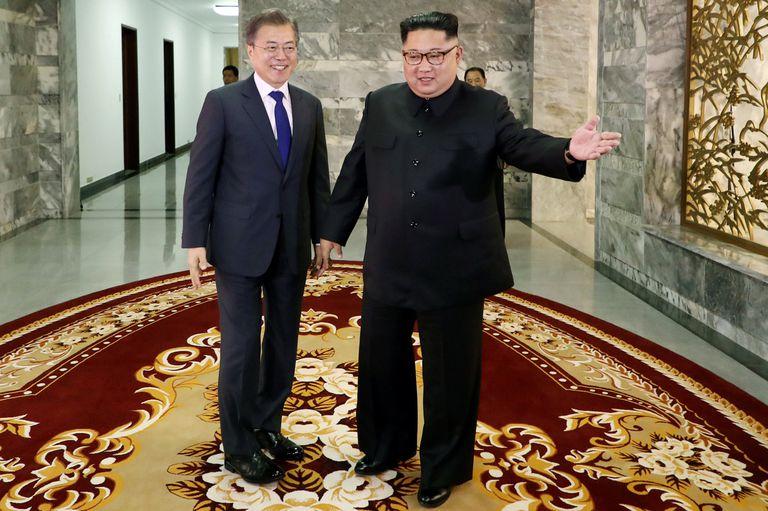 Ayer, los líderes de ambas Coreas se reunieron tras la tensión de los últimos días