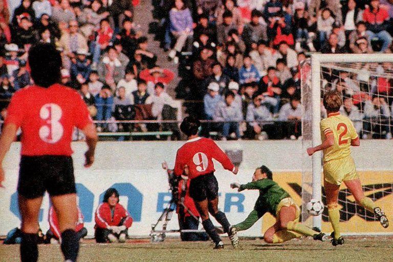 El gol de Mandinga Percudani ante Liverpool