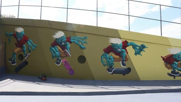 Arte joven en el sector de skate