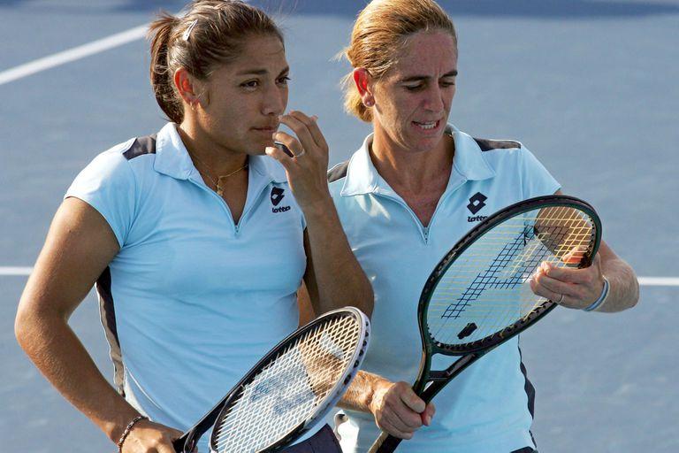 Paola Suarez y Patricia Tarabini lograron el bronce en el dobles de Atenas 2004