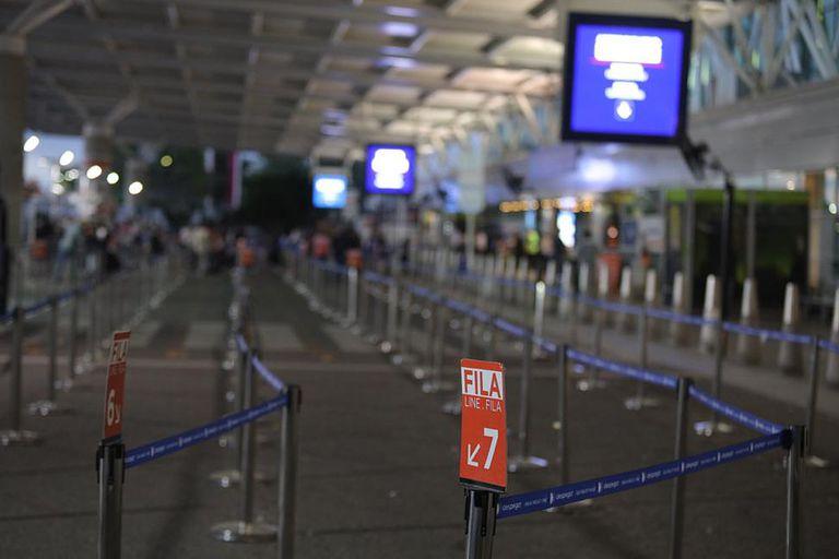 El aeropuerto internacional de Ezeiza