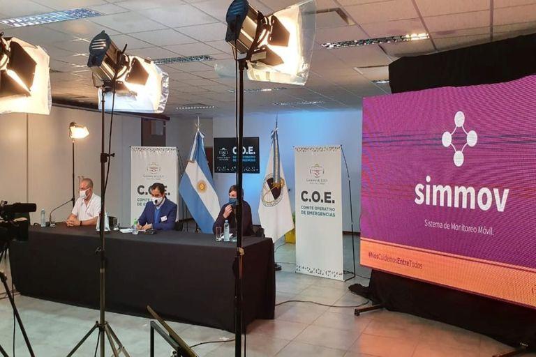 El Gobierno de Jujuy y ambas empresas lograron desarrollar Simmov para controlar la flexibilización de la cuarentena