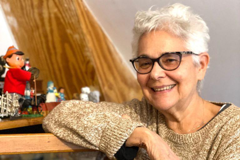 Liliana Porter en su casa de Rhinebeck