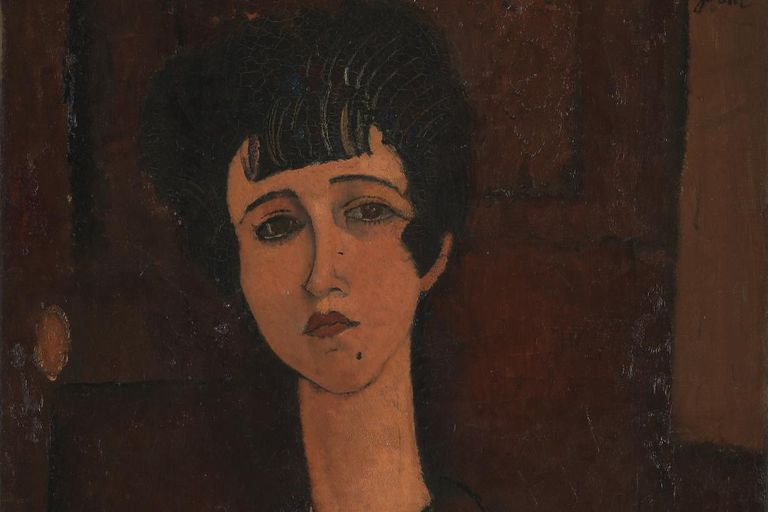 Retrato de una niña, de 1917