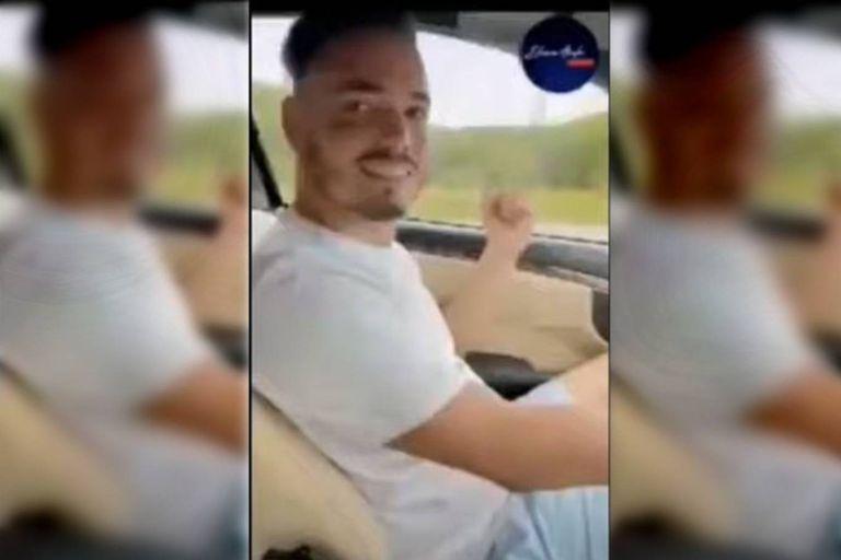 """El nieto de Fidel Castro se grabó en su Mercedes Benz: """"Somos sencillos"""""""