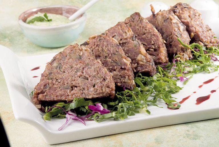 Pan de carne de cordero