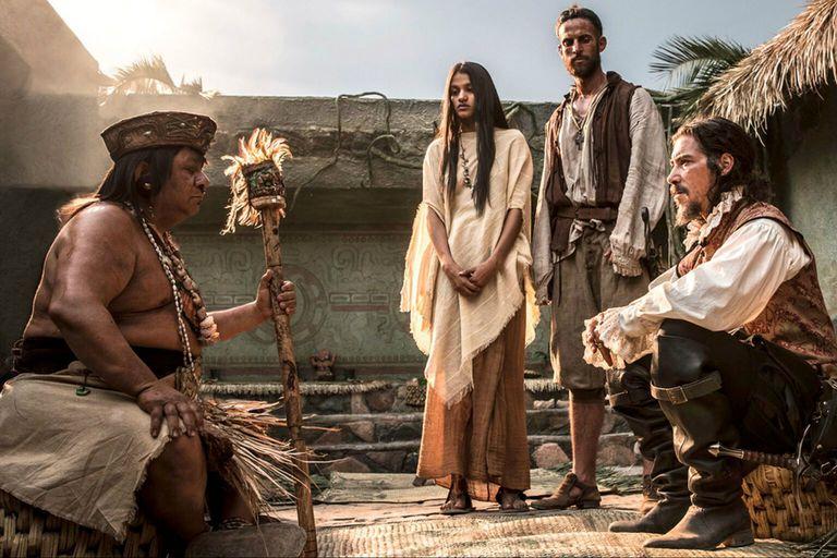 Oscar Jaenada, conocido por su rol de villano en Luis Miguel, la serie protagoniza Hernán, una superproducción biográfica sobre el conquistador de México