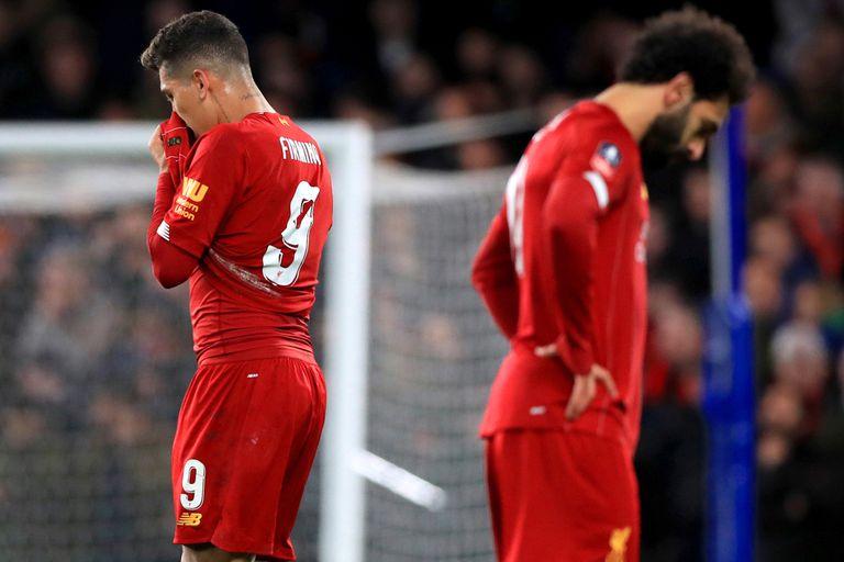 Firmino y Mané, decepcionados por la eliminación de Liverpool