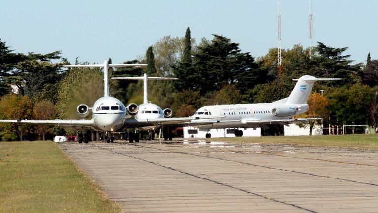 Incorporaron la baase aérea de El Palomar al Sistema Nacional de Aeropuertos
