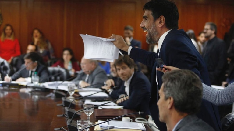 El dipuado Rodolfo Tailhade se convirtió en uno de los principales actores de la ofensiva kirchnerista contra el Poder Judicial; tiene buena vinculación con el ministro Martín Soria