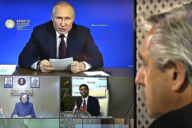 El impacto de las relaciones carnales entre Vladimir Putin y la Argentina